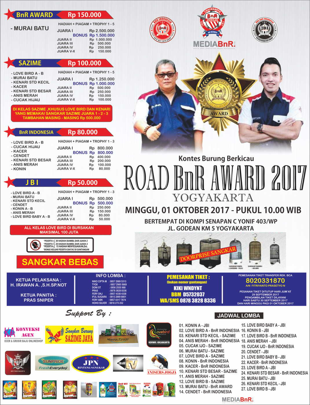 BROSUR ROAD BNR AWARD jogja FIX