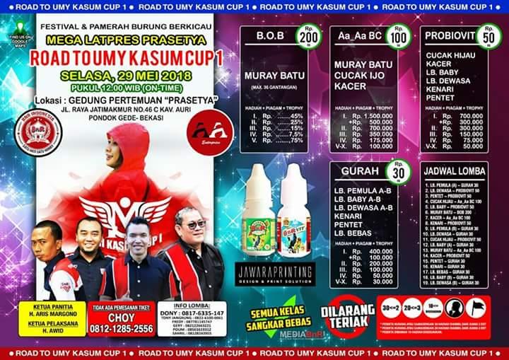 BnR Prasetya Jatimakmur – Gelar Road To Umy Kasum Cup 1, Tiket 200 Nyaris Habis