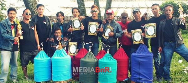 Balantrax Team Dominasi Kelas Anis Merah (Foto: Ricky/MediaBnR.Com)