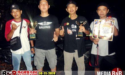 Cucak Ijo Baleno Double Winner Di BnR Berbagi Anak Yatim