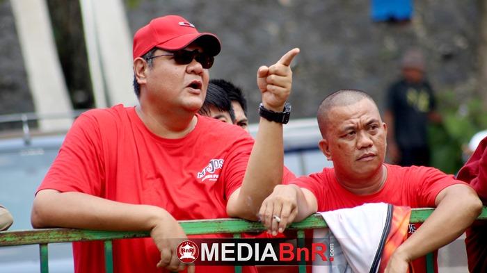 Bang Arie Sri Bintang Pemain lawas dengan prestasi segudang turut meramaikan event Bupati Cup Pesawaran II