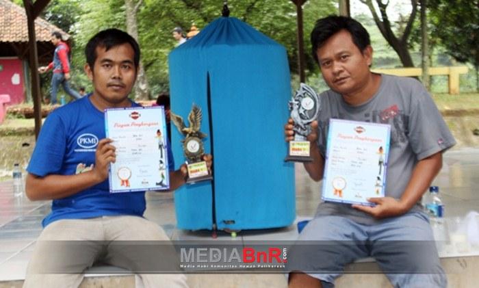 Bang Arip - Pullman Raih Juara 1 & 2