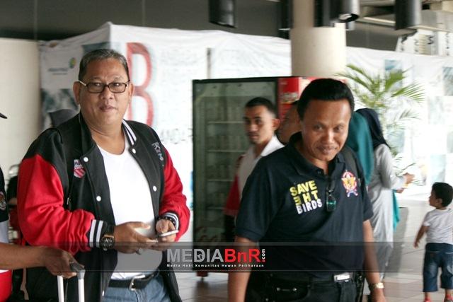 Bang Boy Landing di Padang bersama Ketua BnR Sumbar
