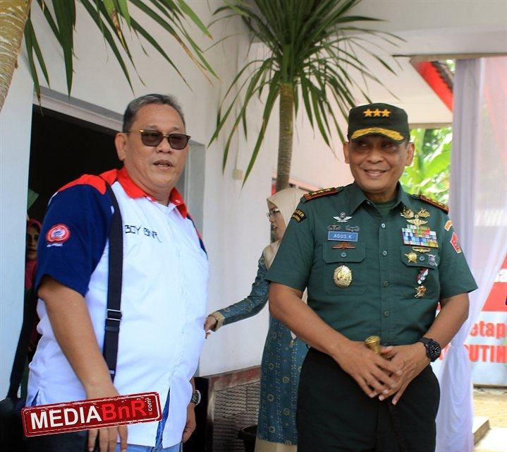 Bang Boy & Letjen TNI Agus K