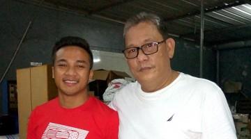 Bang Boy bersama H. Nendra