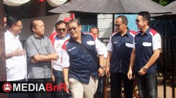 Bang Boy bersama pejabat di Kementrian Lingkungan Hidup dan petinggi BnR