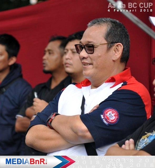 Bang Boy hadir pantau Aa Aa BC Cup di Bekasi
