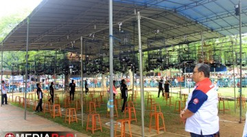 Bang Boy kawal langsung Murai Batu BnR Bird Champions di lap. Banteng Jakarta