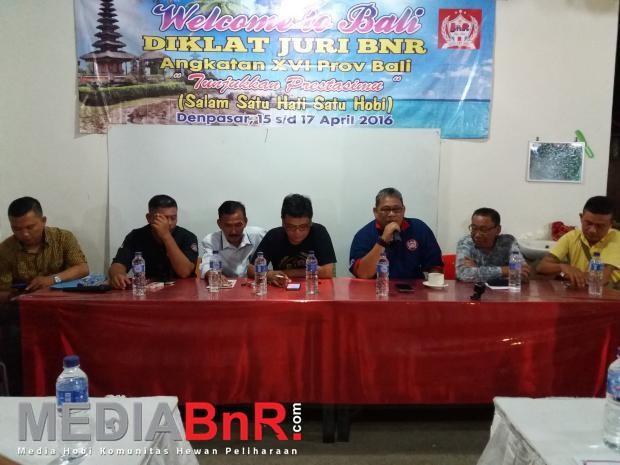 Diklat Juri Bali Dibuka Bnr Satoe