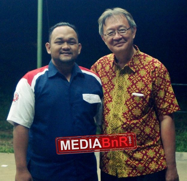 Bang Hilman Ketua BnR Subang (kiri) & Yamin Salim (kanan)