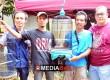 Bang boy bersama Guntar serahkan hadiah kepada Pemenang kelas Oriq