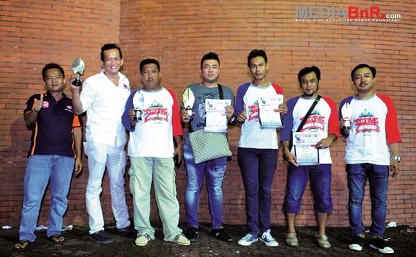 Baron dan RBS sukses mengibarkan bendera Ozone BC di Jakarta