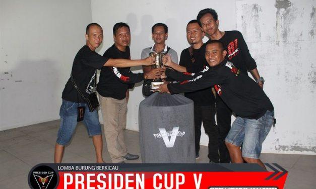 Ben Ten Buktikan Terbaik  MB DPR A  di Presiden Cup V