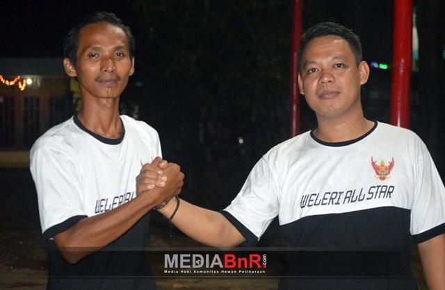 Beqi (Ketua Lhekrec BC) Bersama Wakilnya, Fajar Aris Setia