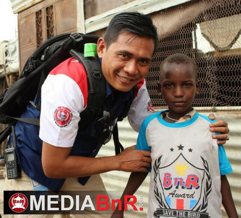 BnR Indonesia bersama Om Wahyu di Sudan