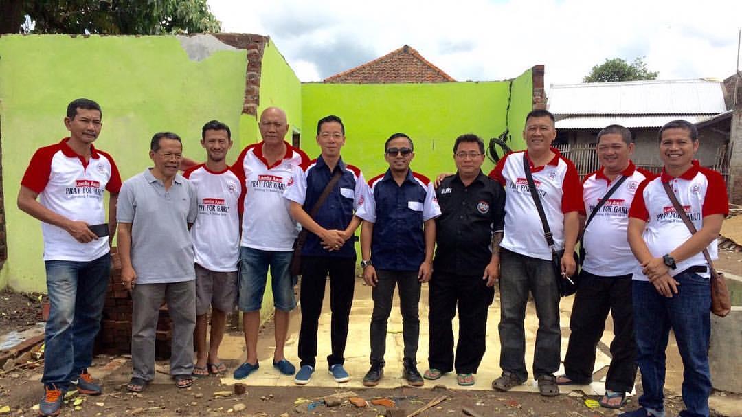 Aksi Sosial Yayasan BnR Peduli Garut