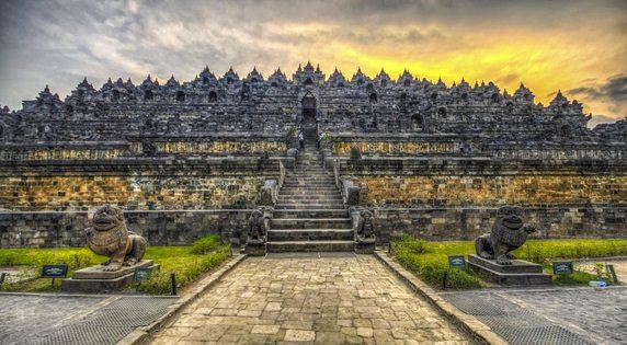 Soeharto CUP IV Candi Borobudur