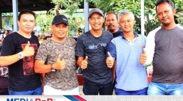 Bp Lurah Junaidhi - Kepala Desa Ponggok Klaten bersama H Sigit WMP