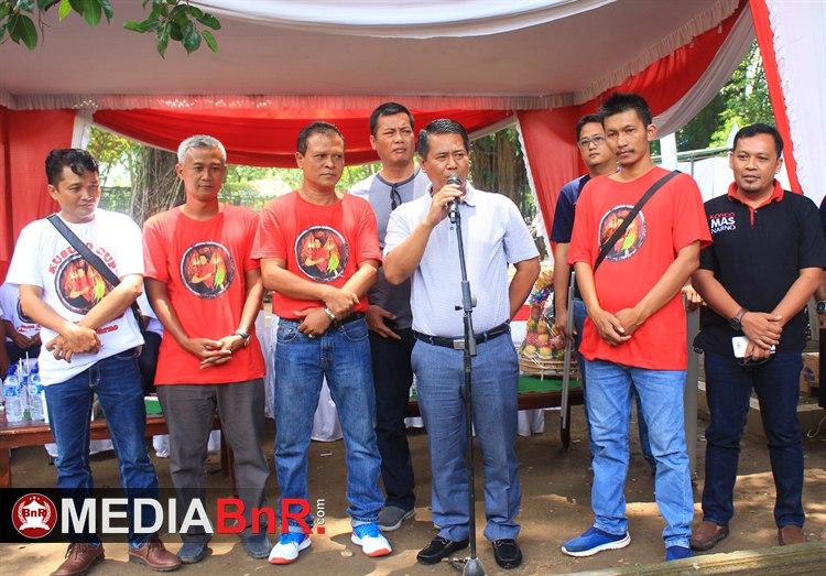 Bp Sunarno Membuka Acara Kusumo Cup ( Halaman Utama )