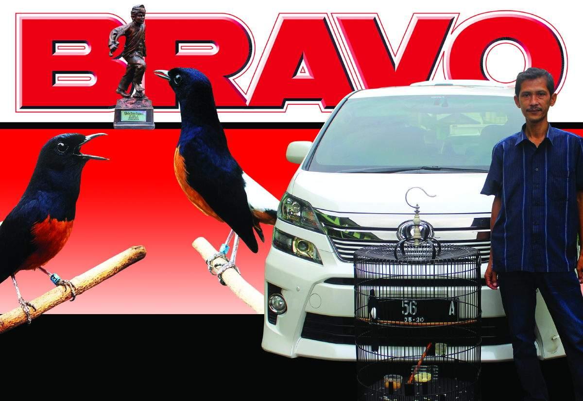 BRAVO : Raih Trophy Istana Bogor