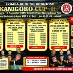 Payung Teduh Double Winner, Kanigoro Cup 2 Pati 18 November 2018