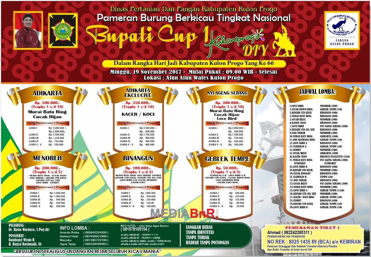 Bupati Cup 1, Kulonprogo Yogyakarta