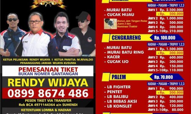 Tiket Lomba Launching BnR Askar Enterprise Nyaris Ludes