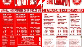 Brosur Lomba burung kicau  canary bnr bird champions