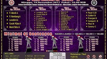 Brosur Pejuang Cup 1 Sidoarjo