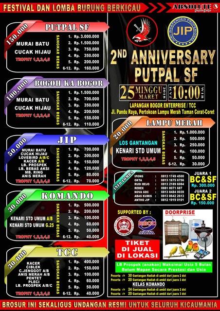 Persiapan JIP Kian Matang Jelang 2nd Anniversary PUTPAL SF