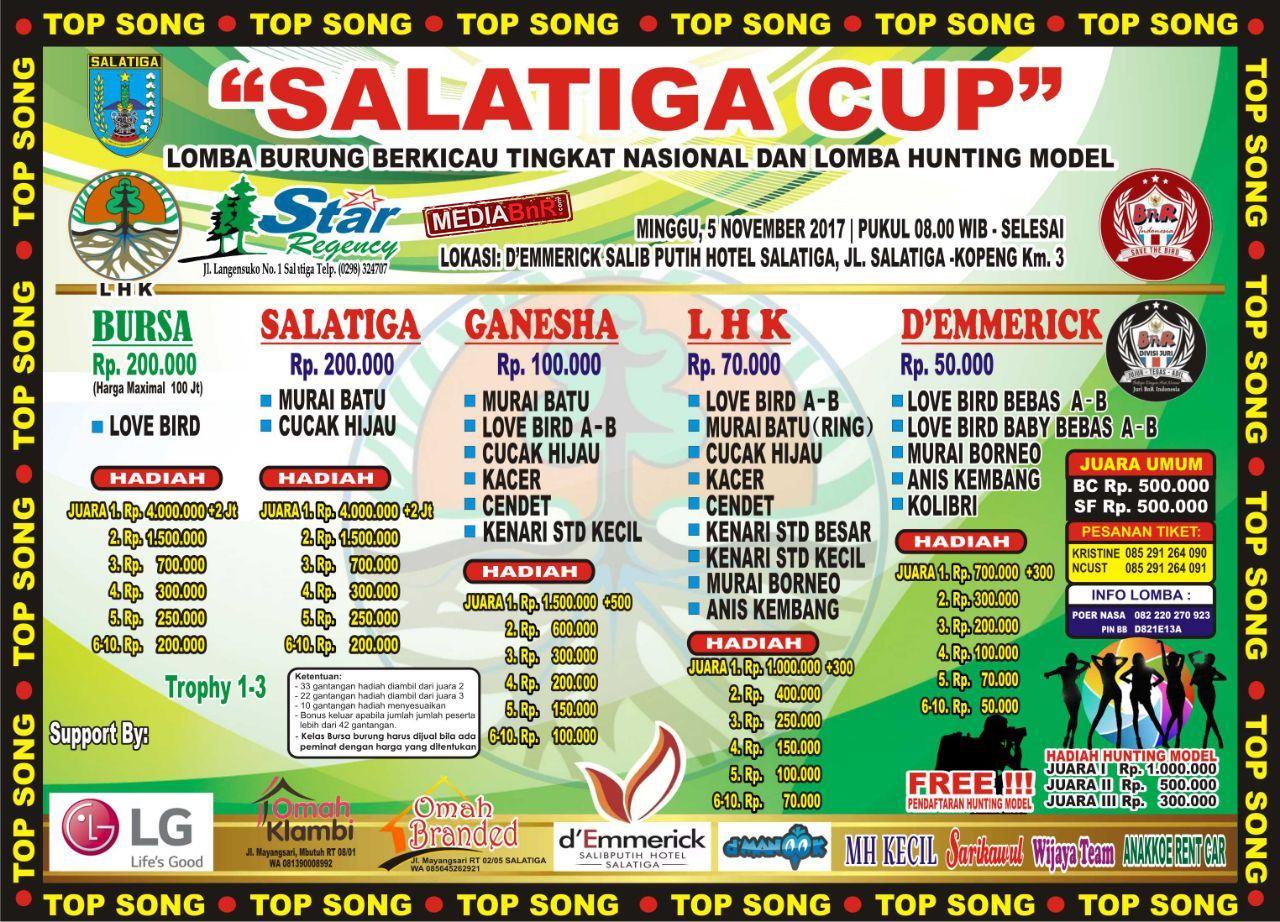 Brosur Salatiga Cup, Minggu 5 November 2017
