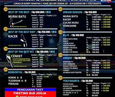 Road To BnR Award Yogyakarta Diprediksi Ramai & Meriah
