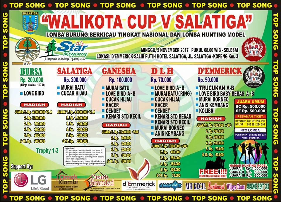 Gandeng BnR, Walikota Cup Salatiga Siap Tayang 5 November 2017
