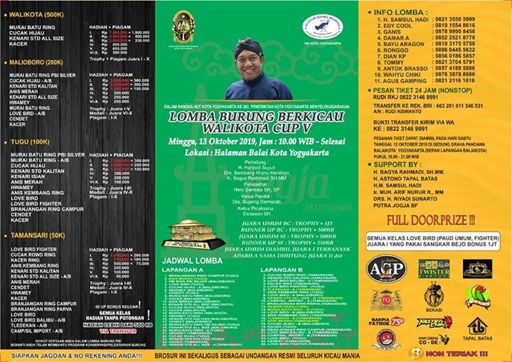 Menuju Walikota Cup V Yogyakarta