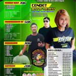 Brosur Lomba Road To Party Queen Of Cendet