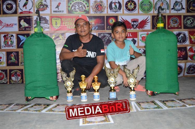 Budi Cadas (Persebaya Sf) masih kebagian podium Bonita dengan duduk dipodium utama dan Crocodile di runer up,dan siap jajal ganasnya Astadasa Cup Dewa 99