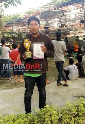 Byson Sabet Juara Pertama