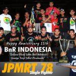JPMRT 78 SF : Selamat Ulang Tahun BnR Indonesia Ke-11