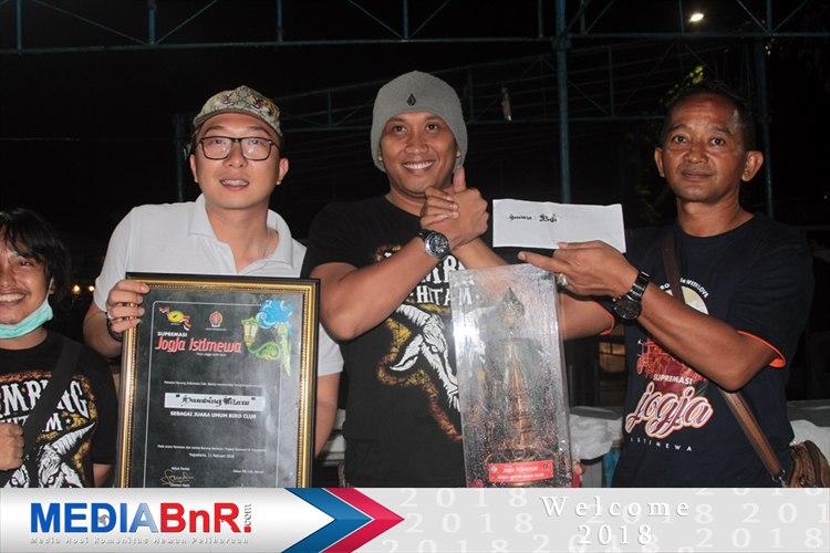 CH Grojokan Sewu andalan Eric Sanders77 sumbang pion tertinggi Duta Kambing Hitam Cup rebut Juara Umum BC