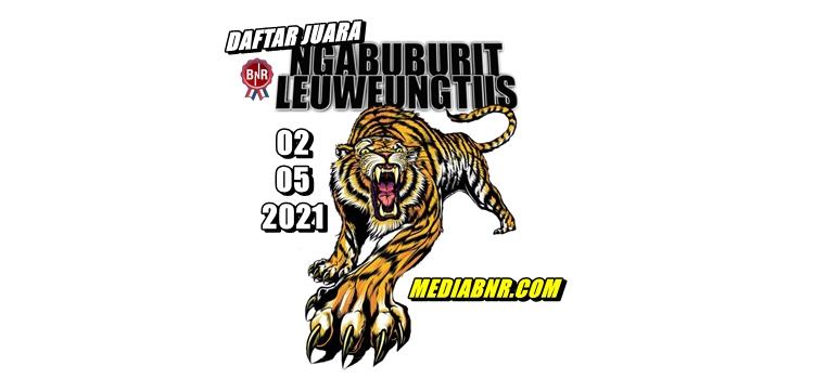 DAFTAR JUARA EXCLUSIVE NGABUBURIT BnR LEUWEUNGTIIS BANDUNG 02-05-2021