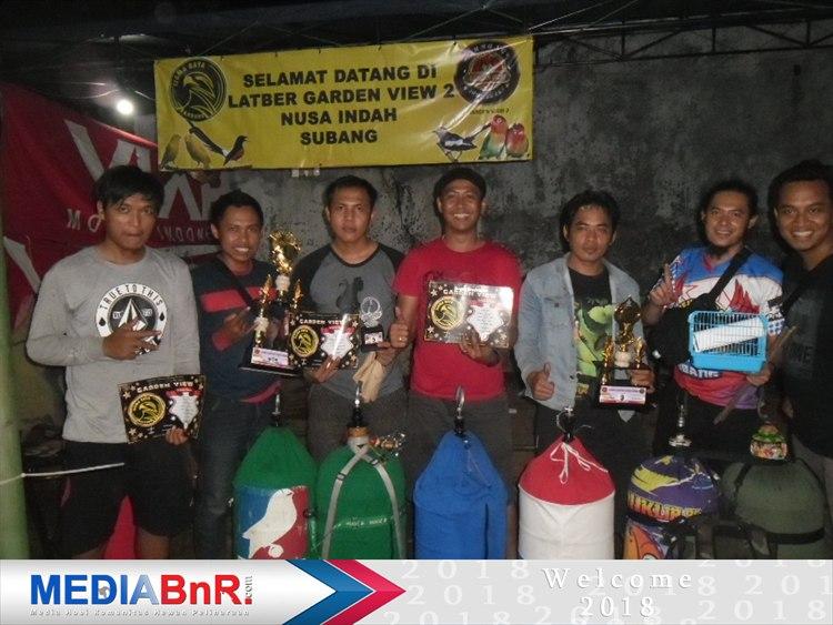Centini andalan B. Reki 29 dari DERGD BC Subang rebut juara ke-3 Love Bird Nusa Indah