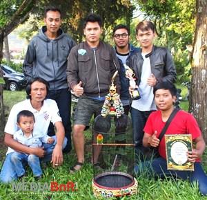 Checil, Comeback Juara Kelas Utama (Foto: Ricky/MediaBnR.Com)