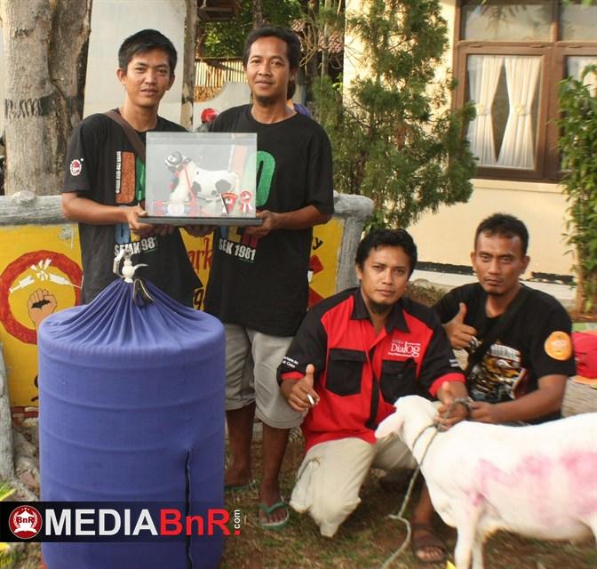 Tombak, Halilintar & Neymar Bintangnya Even Domba Indah Cup I Cirebon