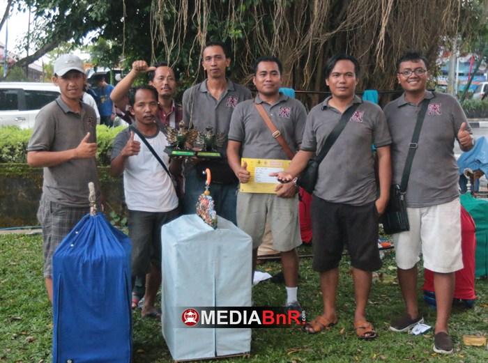 Corsica Taksu Bali. Pandawa Juara 1 dan 2  di Kelas Anis Merah