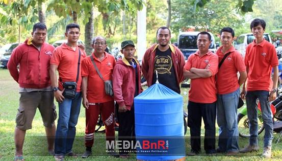 Anakan Aa Aa Bird Farm Tebar Prestasi di BJB Cup