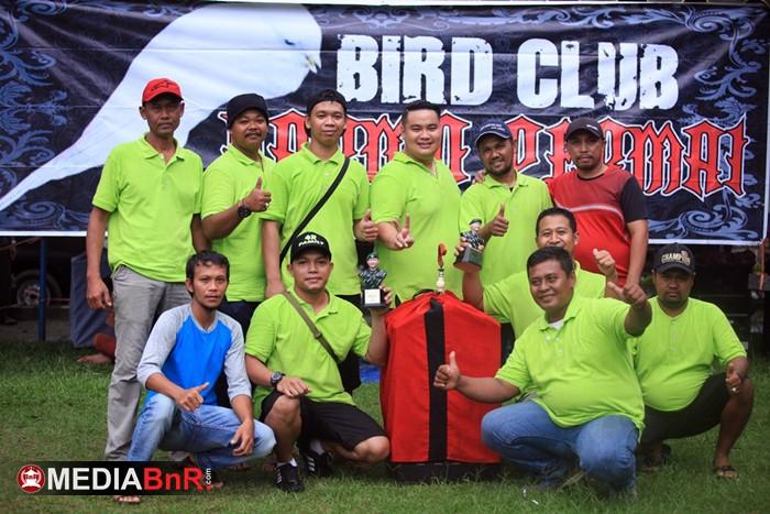 Dandim Kobar Cup III : Dibawah Guyuran Hujan, Naga Bonar Mampu Cetak Nyeri