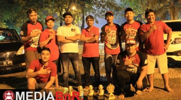 Crew Fitri BKS & H. Roby Marl Bell support squad Gonzo BC