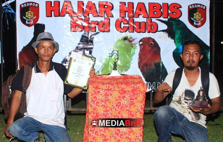 Crew H. Jamal Banjarmasin - Booster Juara 2 dan 4 di Kelas Cucak Hijau