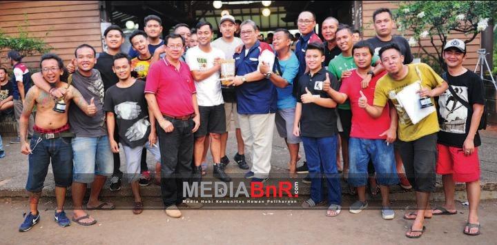 Sien Ronny Dan Teguh Walet Team Naik Podium Juara Umum