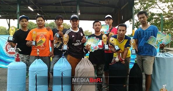 Simon Merangsek ke Puncak, Angkling Kusumo Juara Ganda
